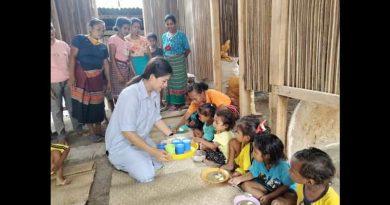 Hari Sumpah Pemuda , Anggota DPRD Belu Partai PDIP Berbagi Kasih Dengan Anak Usia Dini