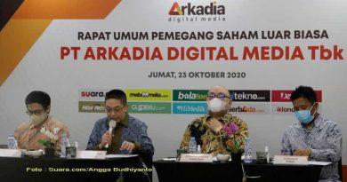 Gelar RUPSLB, Arkadia Digital Media Lakukan Pemecahan Saham