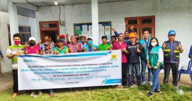 PLN ULP Ruteng Resmikan LISSA di Manggarai