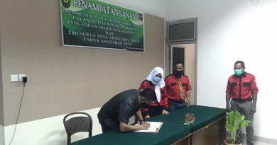 Pengadilan Negeri Kalabahi Kelas II MoU Dengan LBH Surya NTT