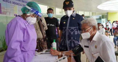 Pencanangan Vaksinasi C19 Tahap I di Kota Kupang