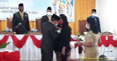 Andina Winantuningtyas Gantikan Hendrikus Frangky Saunoah, PAW DPRD Kabupaten Timor Tengah Utara